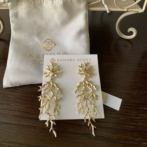 Aviana Gold Statement Earrings